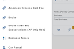 DATABASICS Expense screenshot: New expense on mobile