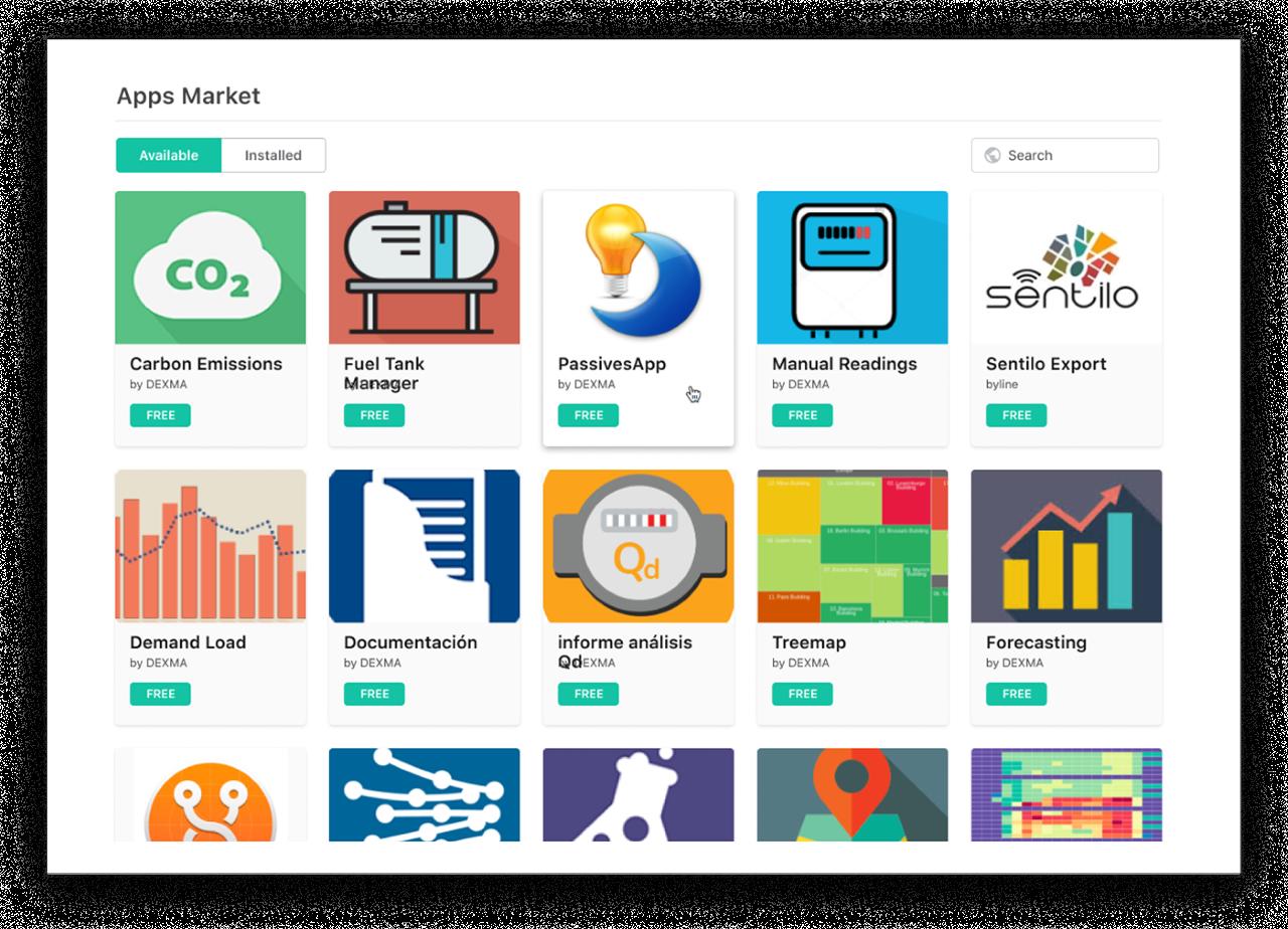 DEXMA Energy Intelligence - apps market