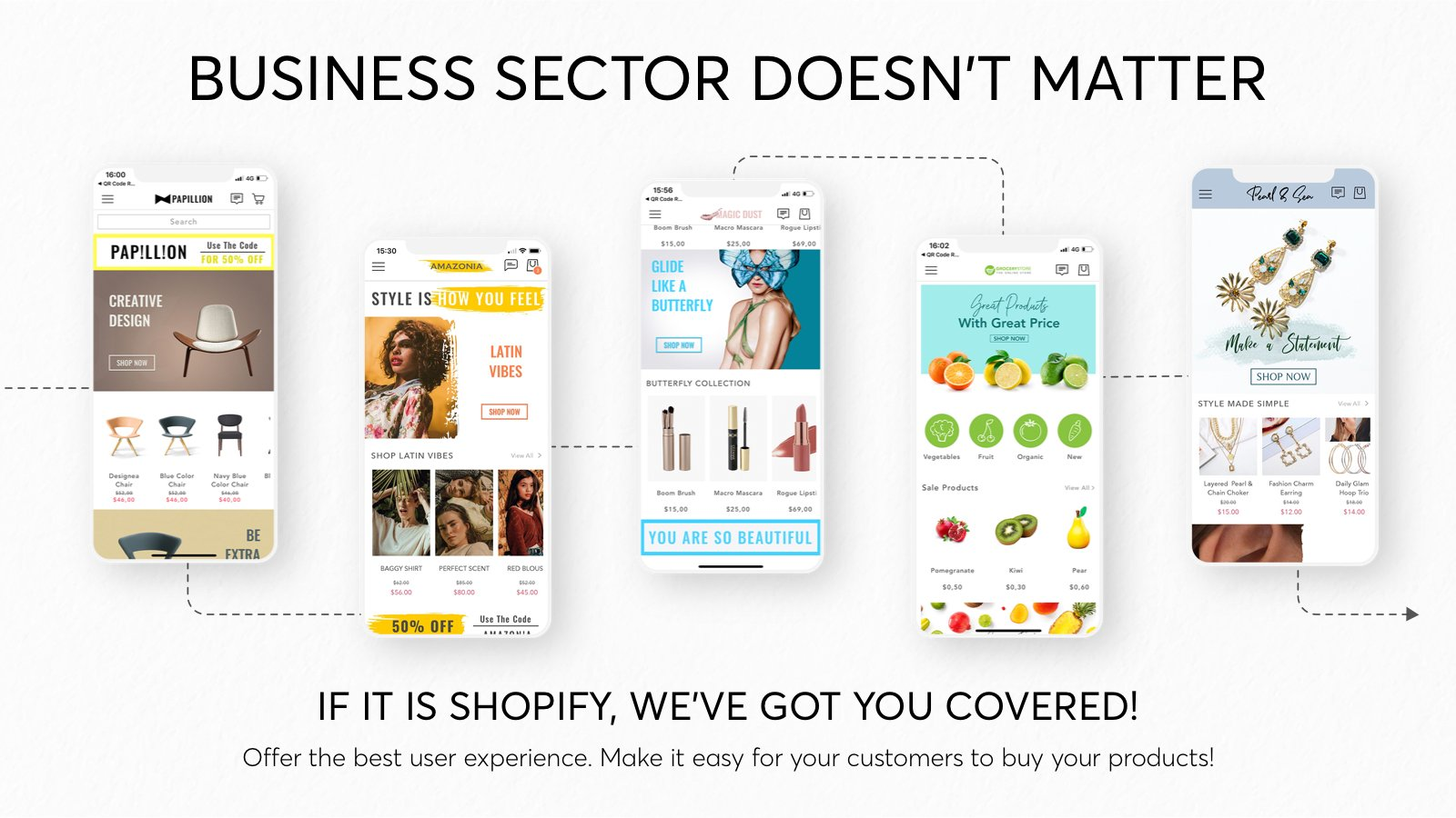 Shopney native iOS and Android apps