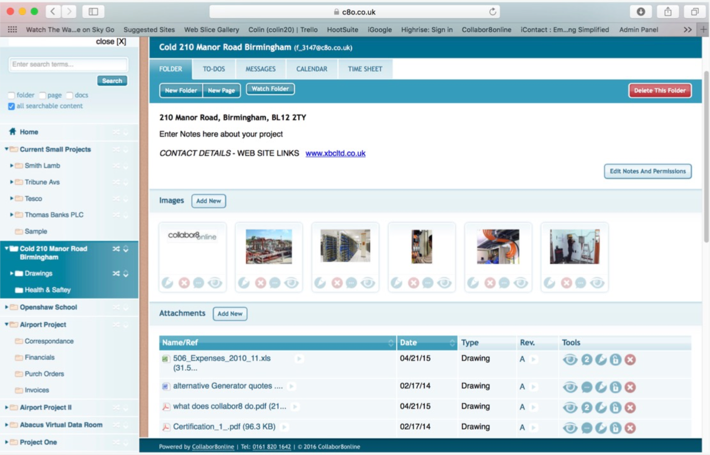 Collabor8online Software - Image files