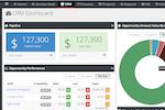 Vorex screenshot: CRM Dashboard