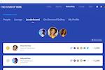 Captura de pantalla de BigMarker: Virtual Event Gamification Leaderboard