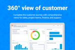FinancialForce PSA screenshot: End-to-end visibility of customer activity