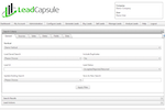 Lead Capsule screenshot: You can search for leads, in any of your configured verticals, with ease