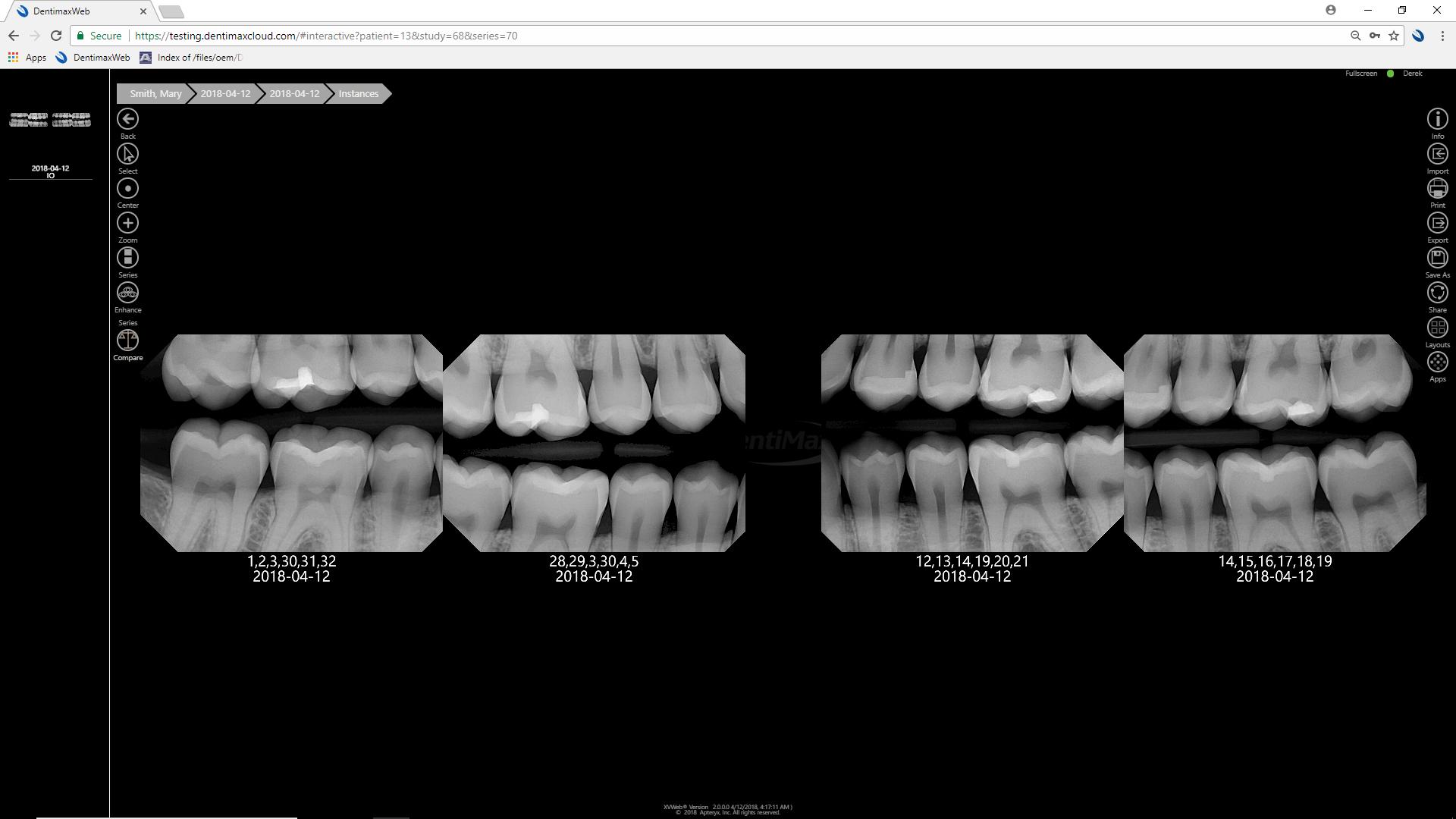 DentiMax Cloud Imaging