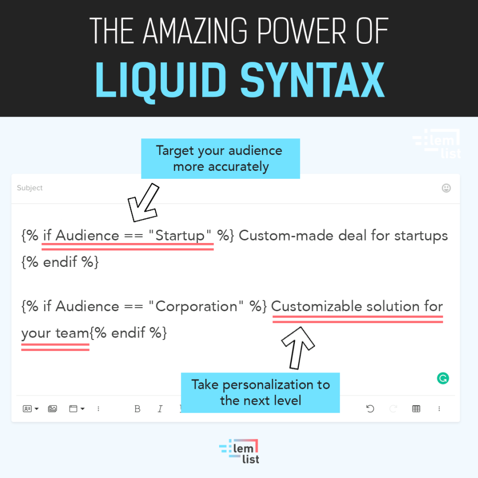 lemlist Software - Ultra personalization