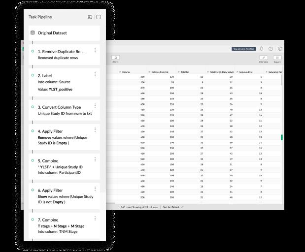 Mammoth Analytics tasks