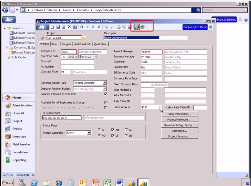 Microsoft Dynamics SL Software - 4