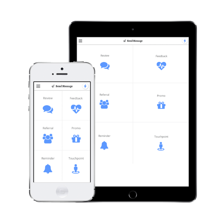 Access Revetize on-the-go from mobile and tablet devices