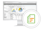 Capture d'écran pour QlikView : Advanced reporting
