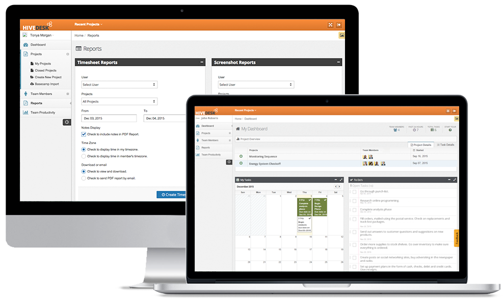 HiveDesk Software - Time tracking