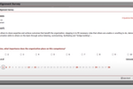 Encompassing Visions screenshot: Encompassing Visions competency alignment survey
