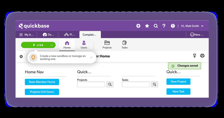 Quickbase Software - Sandbox