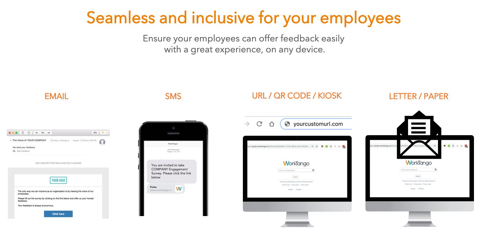 WorkTango Software - Multiple Deployment Methods