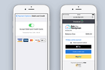 Invoice2go screenshot: Securely accept debit and credit cards when handling online payments