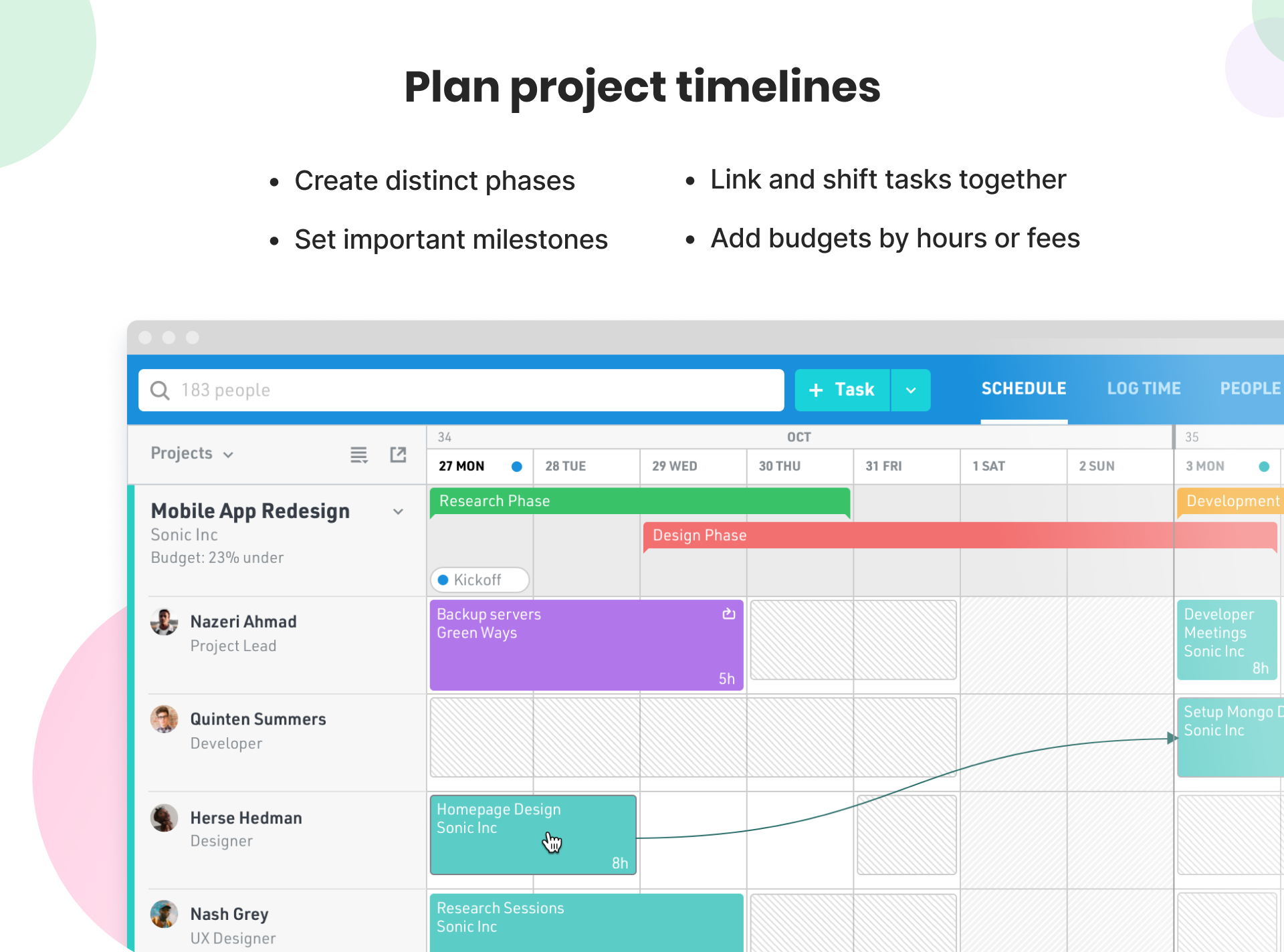 Float Software - Create and visualize project timelines and task dependencies
