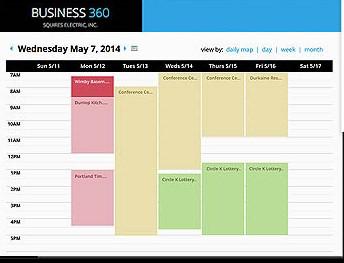 360e scheduling screenshot