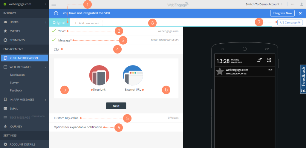 WebEngage Software - 3