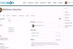 ShelbyNext Membership screenshot: ShelbyNext - Individual profile of members