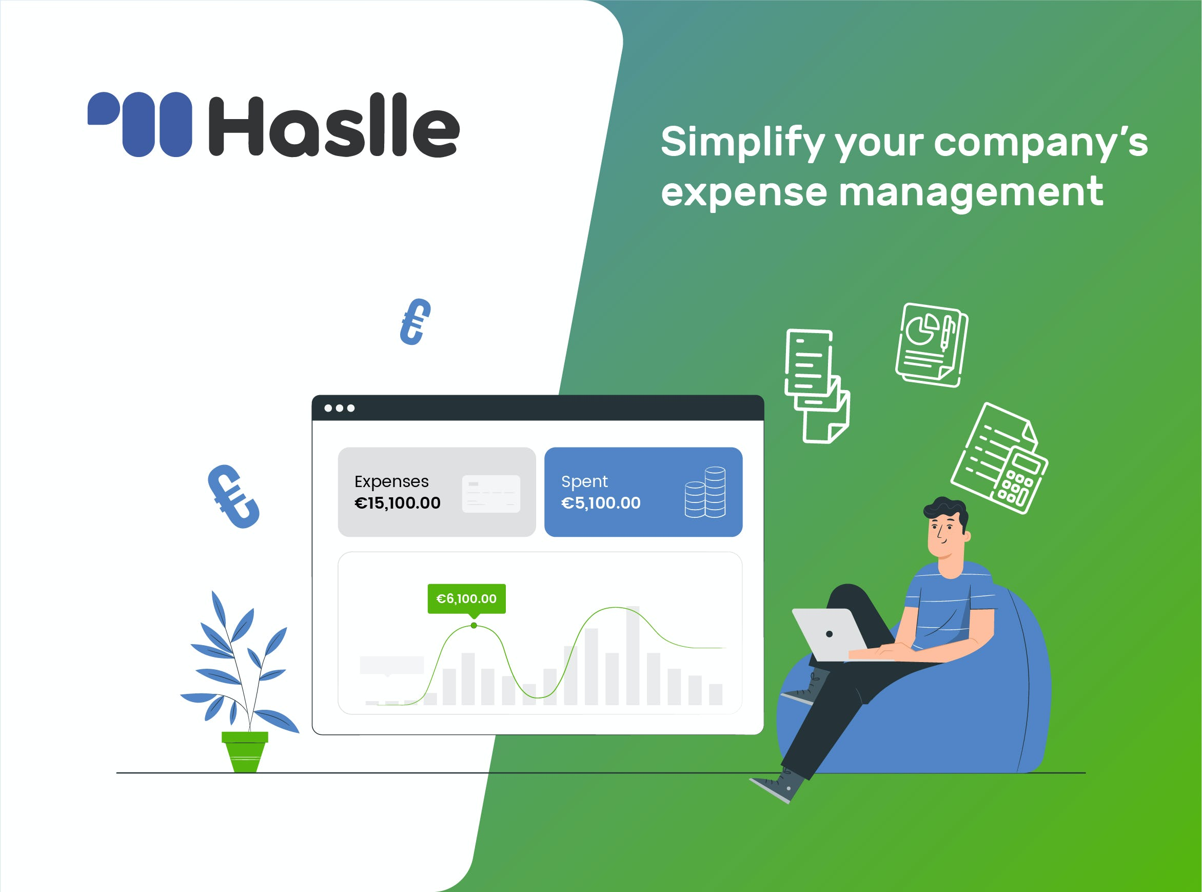 Simplify your Company's Expense Management with Haslle