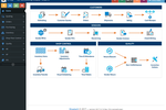 E2 Shop System screenshot: The E2 Shop System dashboard provides users with access to customer management, vendor management, shop control, and quality control features