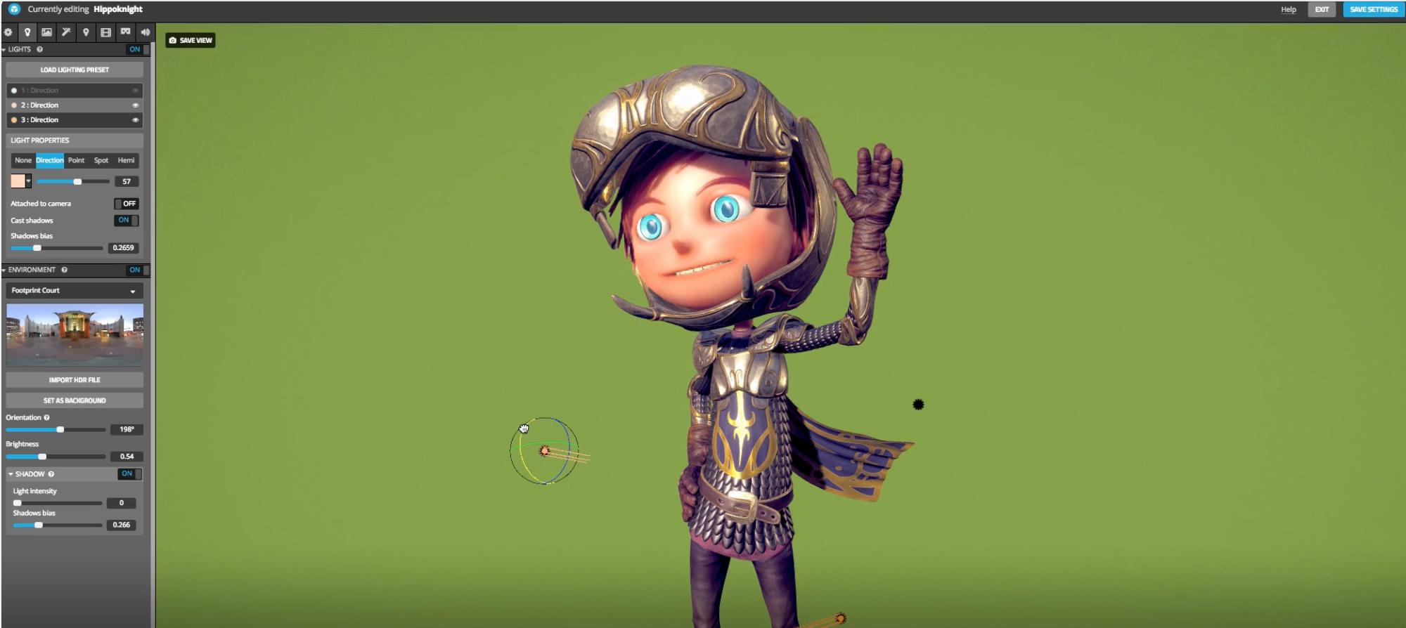 Sketchfab Software - Sketchfab 3D editor