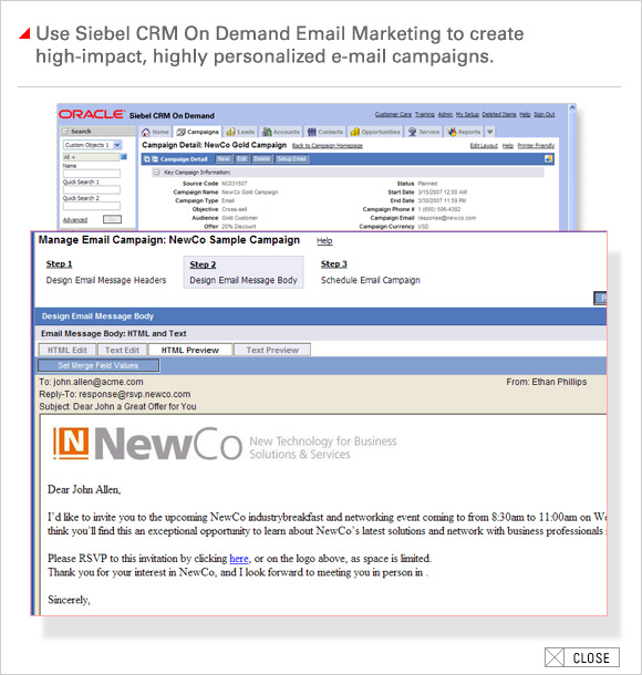 Send Highly Personalized Email Campaigns