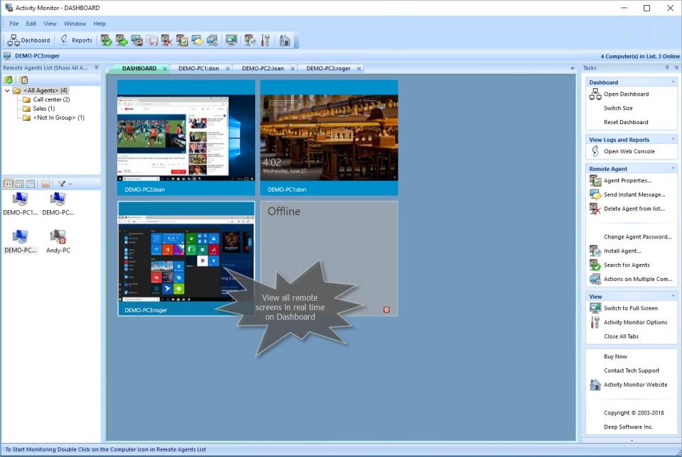 SoftActivity Monitor Software - 1