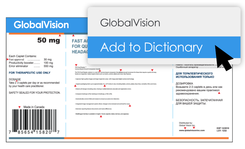 Build a custom dictionary