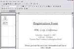 EventPro screenshot: Create registratio forms in EventPro Planner