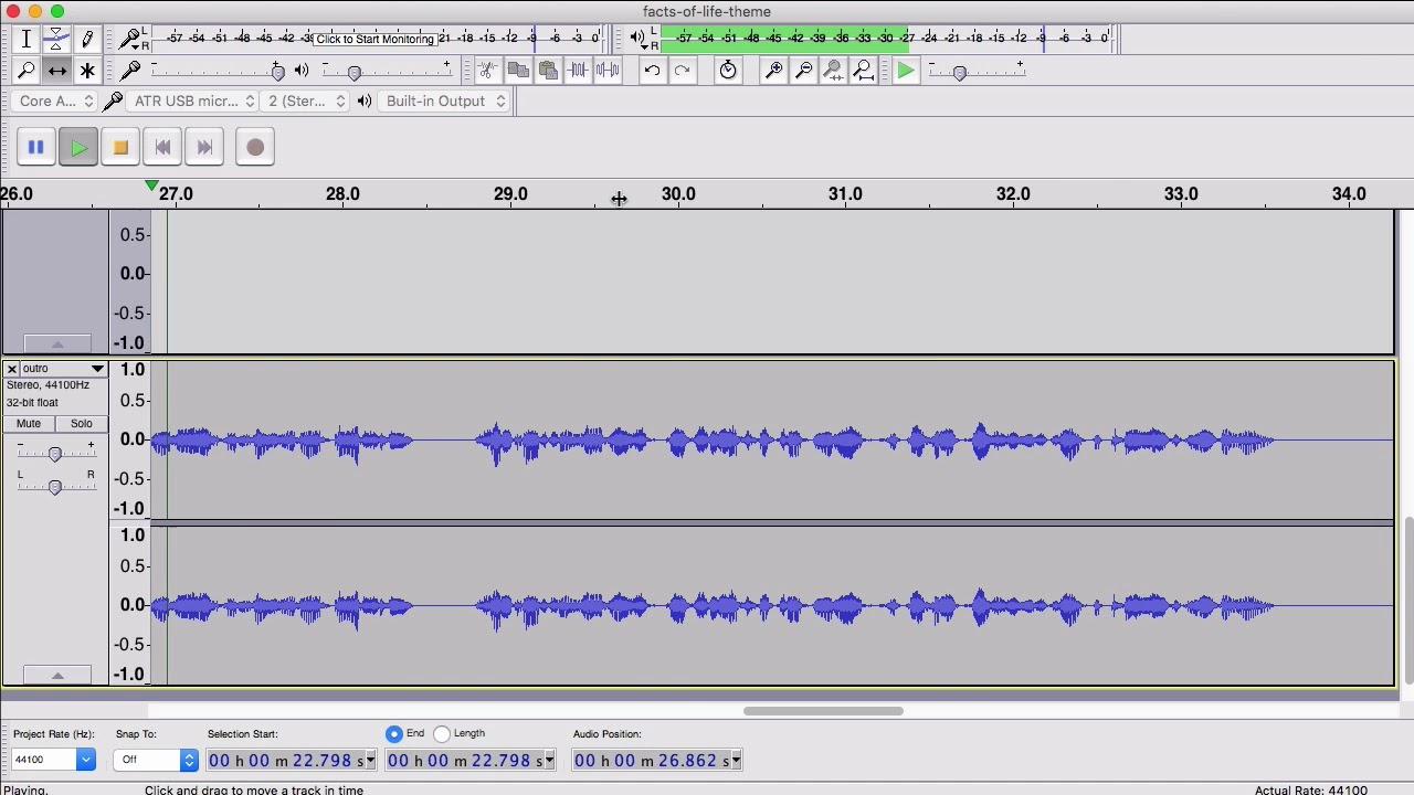 Zencastr audio editing