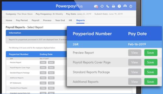 Powerpay Software - Powerpay - payroll reports