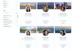 Unily screenshot: People Directory