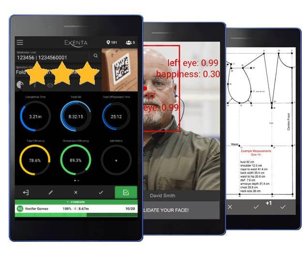 Exenta Software - Mobile preview