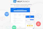 Capture d'écran pour HelpCrunch : All-in-one customer communication platform