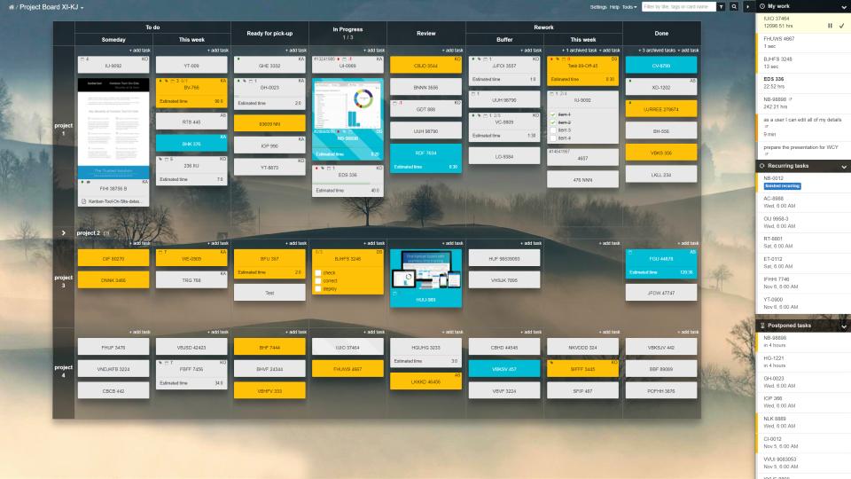 Kanban Tool Software - 1