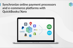 Schermopname van Synder: Synchronize online payment processors and e-commerce platforms with QuickBooks/Xero