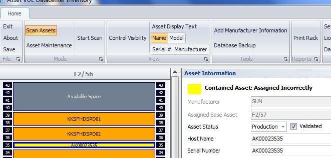Asset Vue Inventory Software - Asset Vue Corrections Management