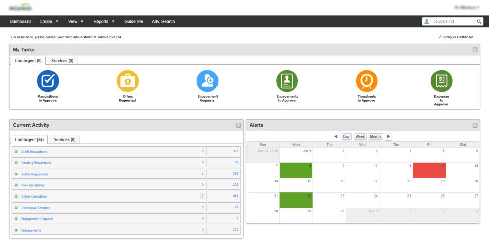VectorVMS tasks screenshot.