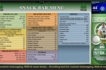 Capture d'écran pour Signera : Snack Bar Menu Example