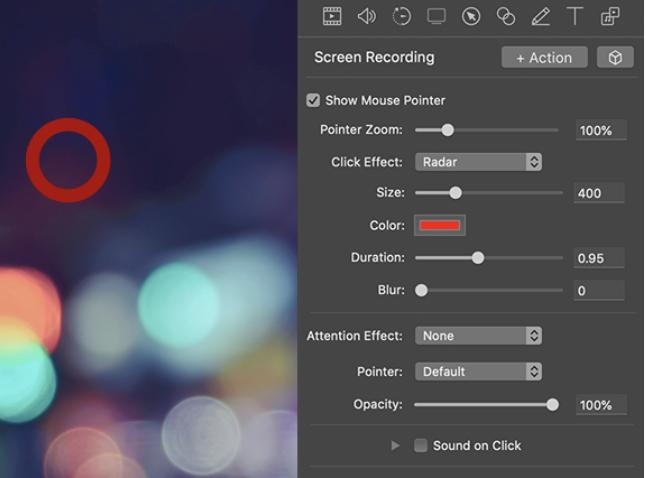 ScreenFlow effects