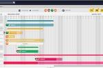 Captura de pantalla de WeKowork: WeKowork Gantt chart