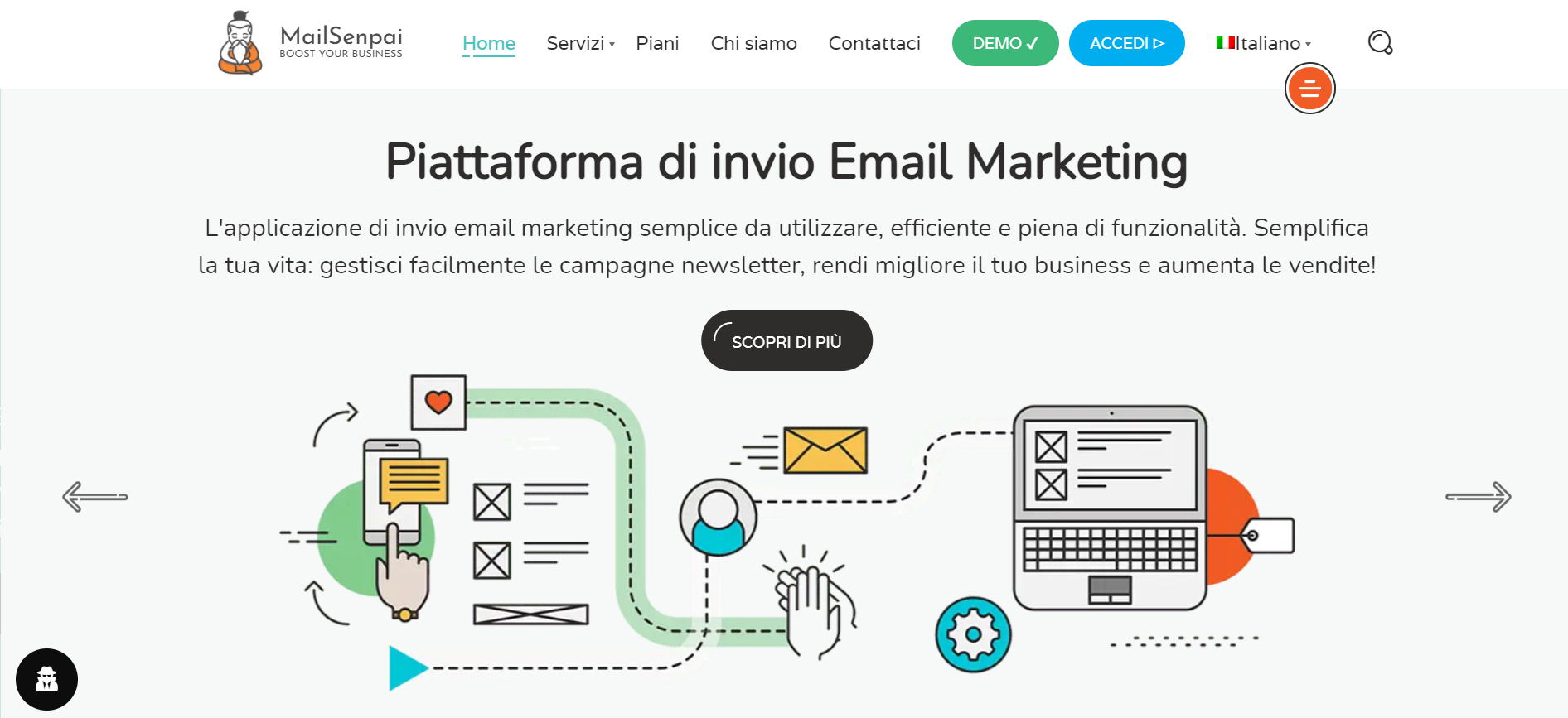 Mailsenpai Homepage