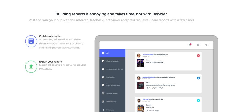 BABBLER Software - 5