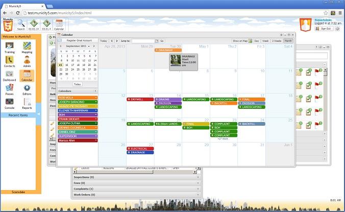 Municity calendar