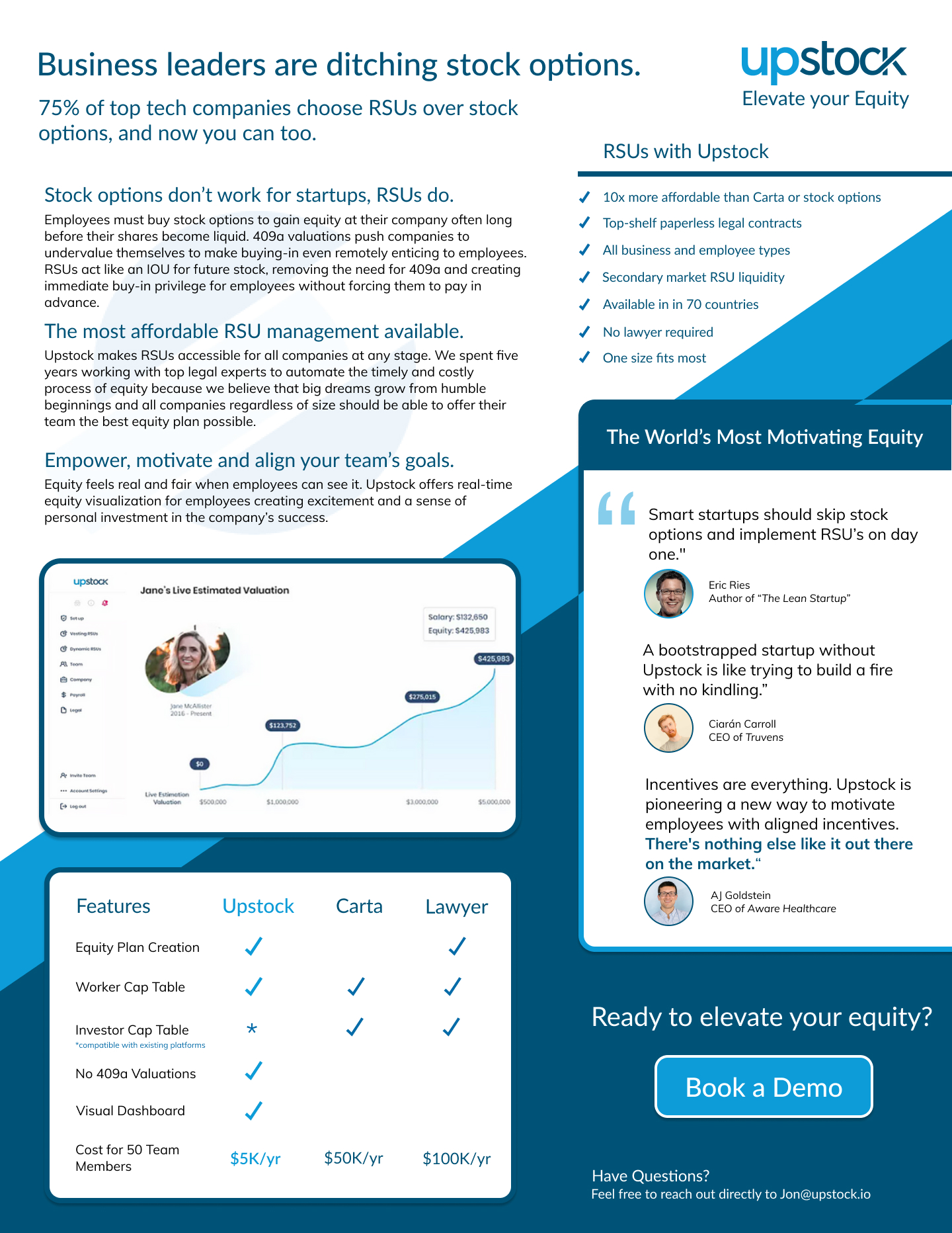 Upstock 1-pager