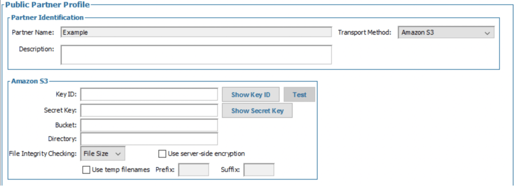 Diplomat Managed File Transfer cloud storage connector