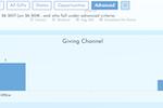 GivingDNA screenshot: Causemo giving dashboard