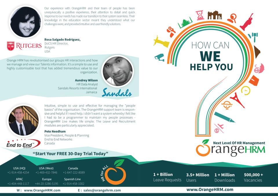 OrangeHRM Logiciel - 4