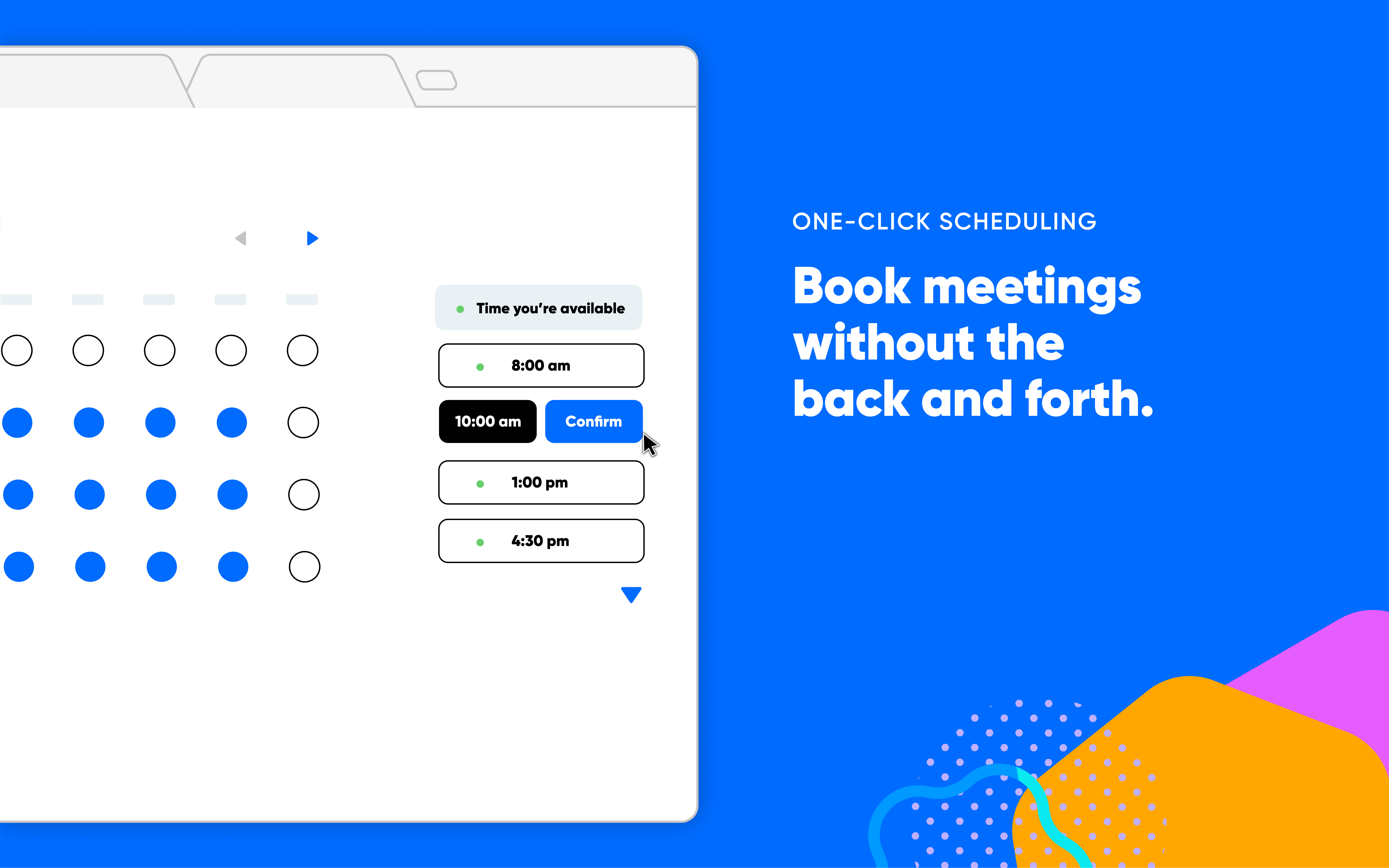Calendly Software - Simple booking experience